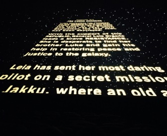 star wars scroll